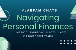 [Virtual Talk] LabFam Chats: Navigating Personal Finances